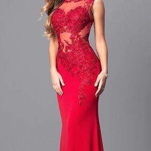 Red Prom Dress jovani
